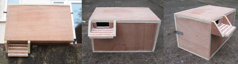 Swift Nest Box Design 2016